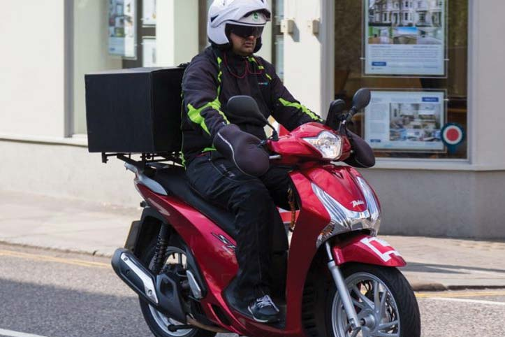 delivery rider - CBT